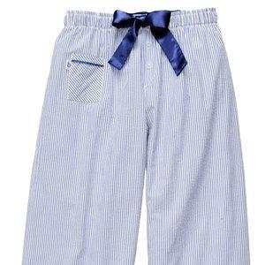 Other - Seer Sucker PJ Pant - Blue Stripe